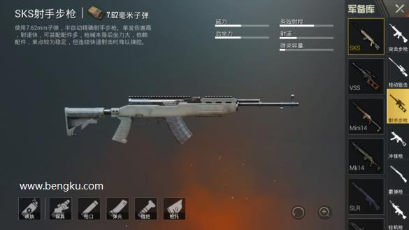 SKS射手步枪