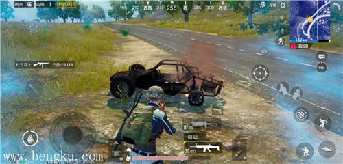 击倒车后的敌人-配图2