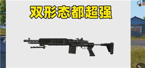 和平精英双形态的武器 配图